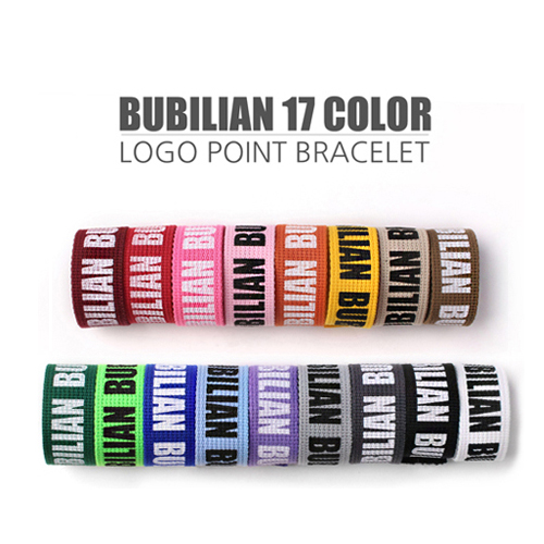 Bubilian Point Logo Bracelet_17color