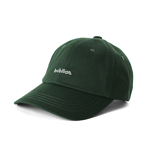Bubilian Logo  Ball Cap_Green