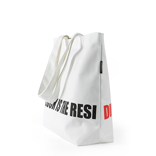 Bubilian Reverse Eco Bag_White