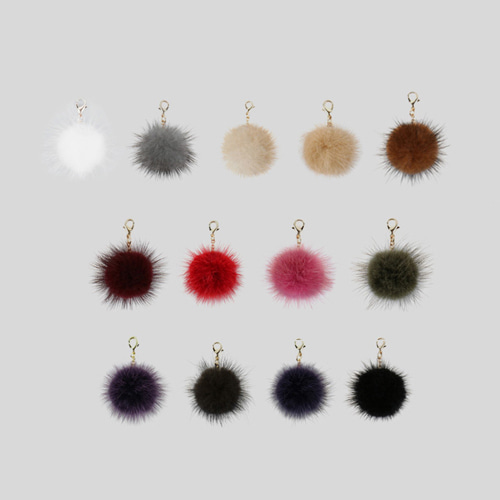 Bubilian Wallet Pompom_13color