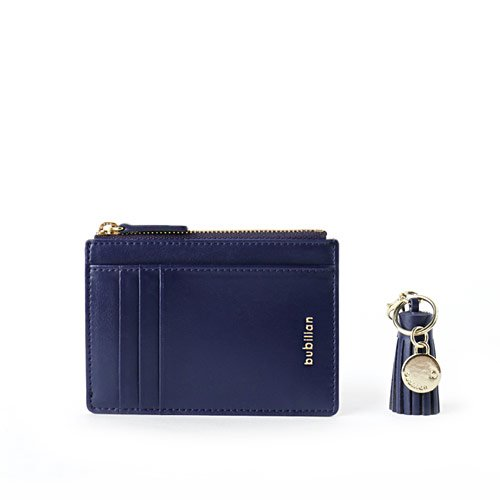 Bubilian Slim Wallet_Navy