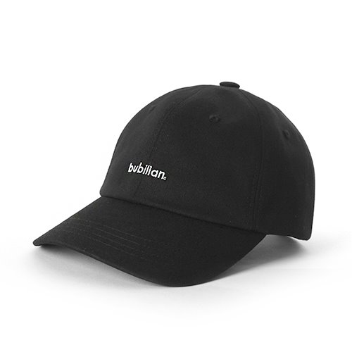 Bubilian Logo  Ball Cap_Black