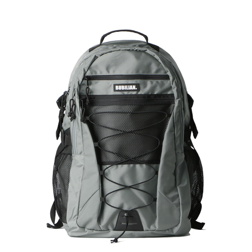 Bubilian Pally Backpack_Silver Gray
