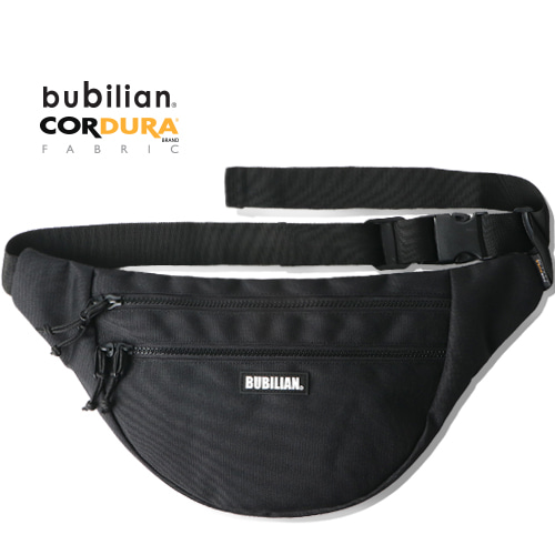 Bubilian Half Moon Waist Bag_Black