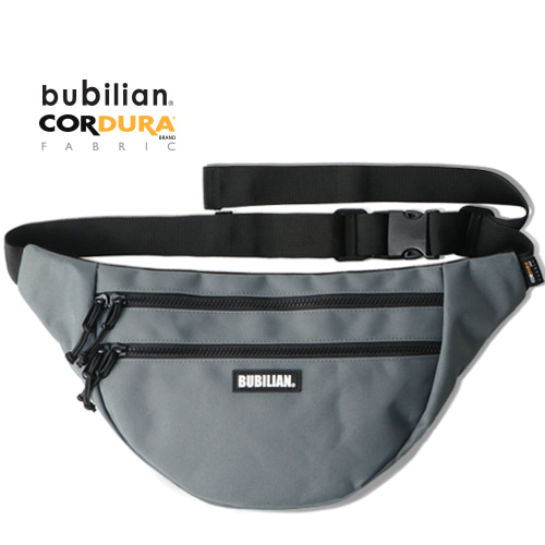 Bubilian Half Moon Waist Bag_Gray