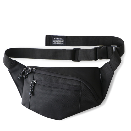 Bubilian Pentagon Waist Bag_Black