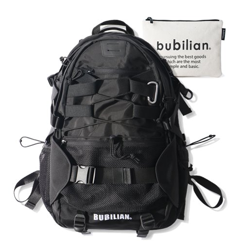 Bubilian Turtle Backpack_Black