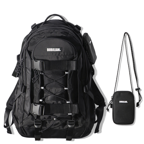 Bubilian Deluxe Backpack_Black