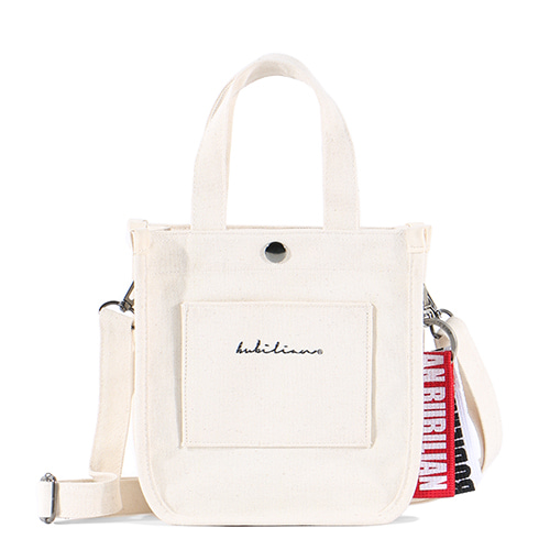 Bubilian Accordion Mini Bag_Ivory
