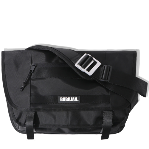 Bubilian Two Line Messenger bag_Black