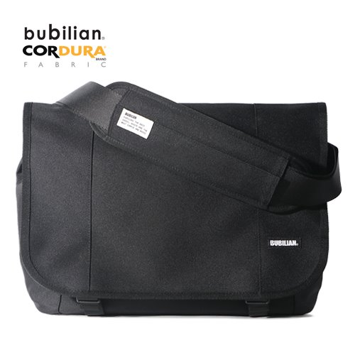 Bubilian Flutter Simple Messenger Bag_Black