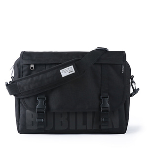 Bubilian Logo Messenger Bag_Black